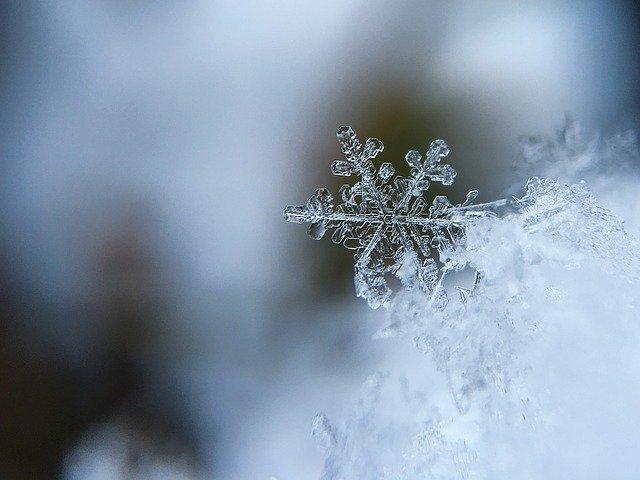 Jak powstają płatki śniegu